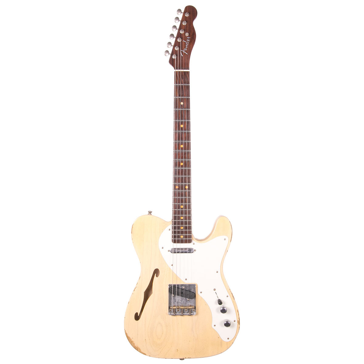Fender Custom Shop - Limited Edition 50s Thinline Telecaster Relic - Vintage Blonde | Lucky Fret Music Co.