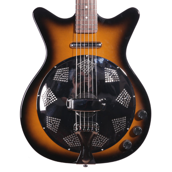 DANELECTRO - DC59RTSB - 59 RESONATOR - TOBACCO SUNBURST - Vintage Guitar Boutique - 1