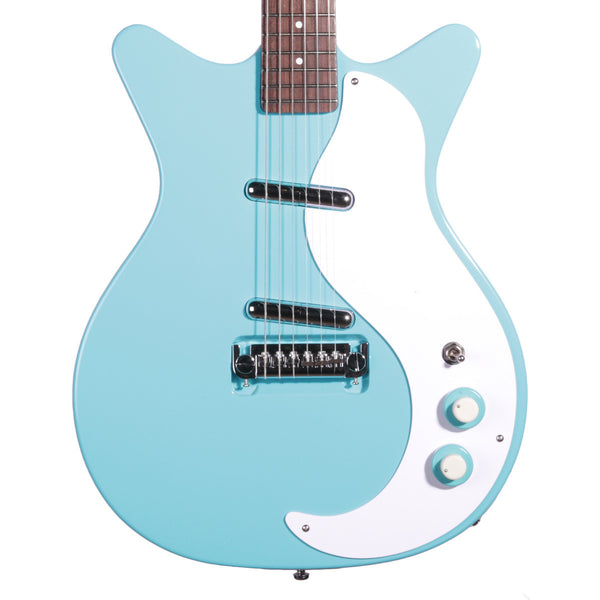 DANELECTRO - DC59M-CBL - DC59M NOS - BABY COME BACK BLUE - Vintage Guitar Boutique - 1