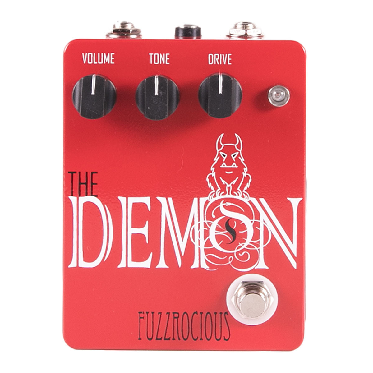Fuzzrocious Pedals The Demon Overdrive Distortion Standard | Lucky Fret Music Co.