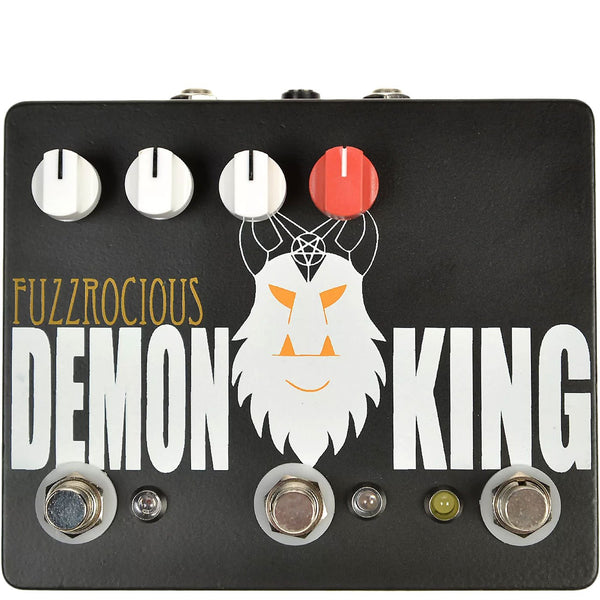 Fuzzrocious Pedals - Demon King – MF - Dual Overdrive/Distortion Momentary Feedback