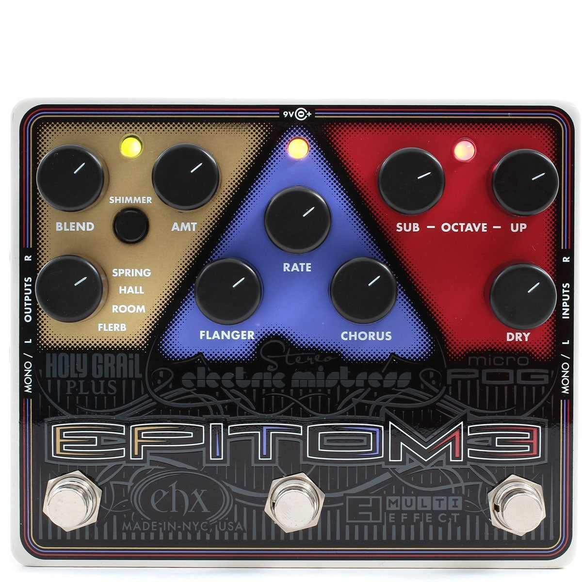 Electro Harmonix - Epitome - Multi-Effects Pedal (PSU Included) | Lucky Fret Music Co.