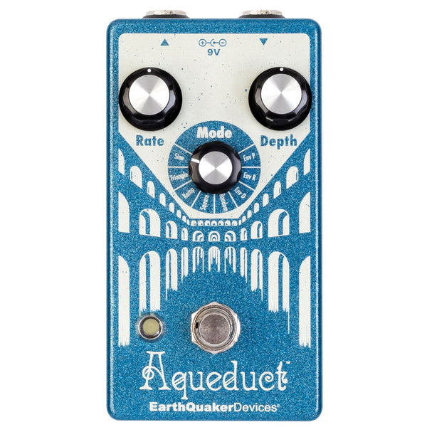 Earthquaker Devices Aqueduct - True Pitch Vibrato Pedal | Lucky Fret Music Co.