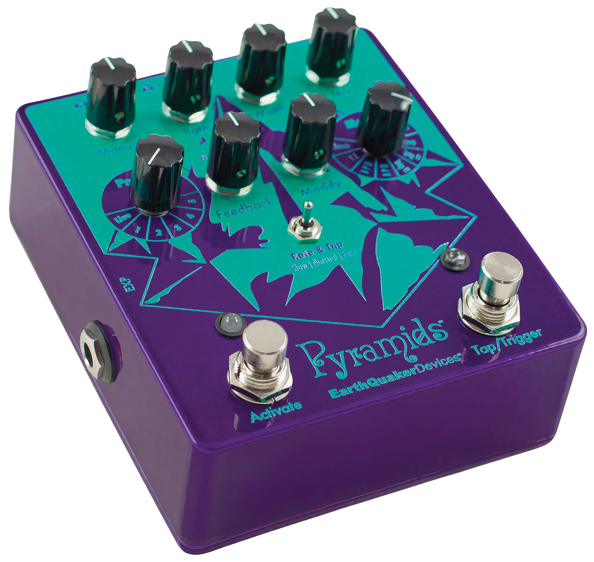 Earthquaker Devices - Pyramids - Stereo Flanging Device | Lucky Fret Music Co.