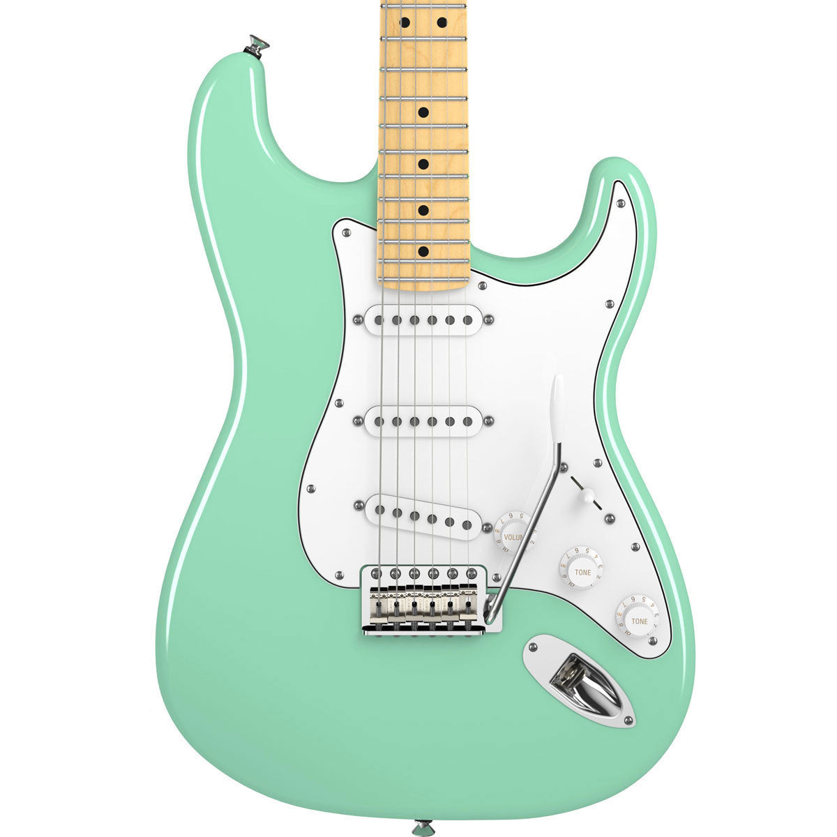 Fender American Special Stratocaster - Maple - Surf Green - Vintage Guitar Boutique - 1