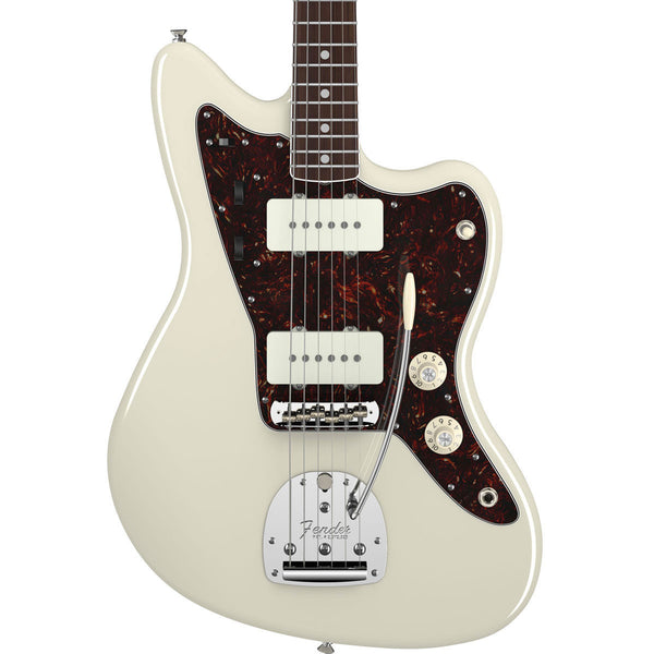 Fender American Vintage '65 Jazzmaster - Rosewood - Olympic White - Vintage Guitar Boutique - 1