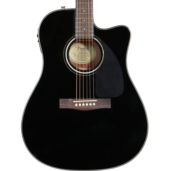 Fender CD-140 SCE - Black - Vintage Guitar Boutique - 1