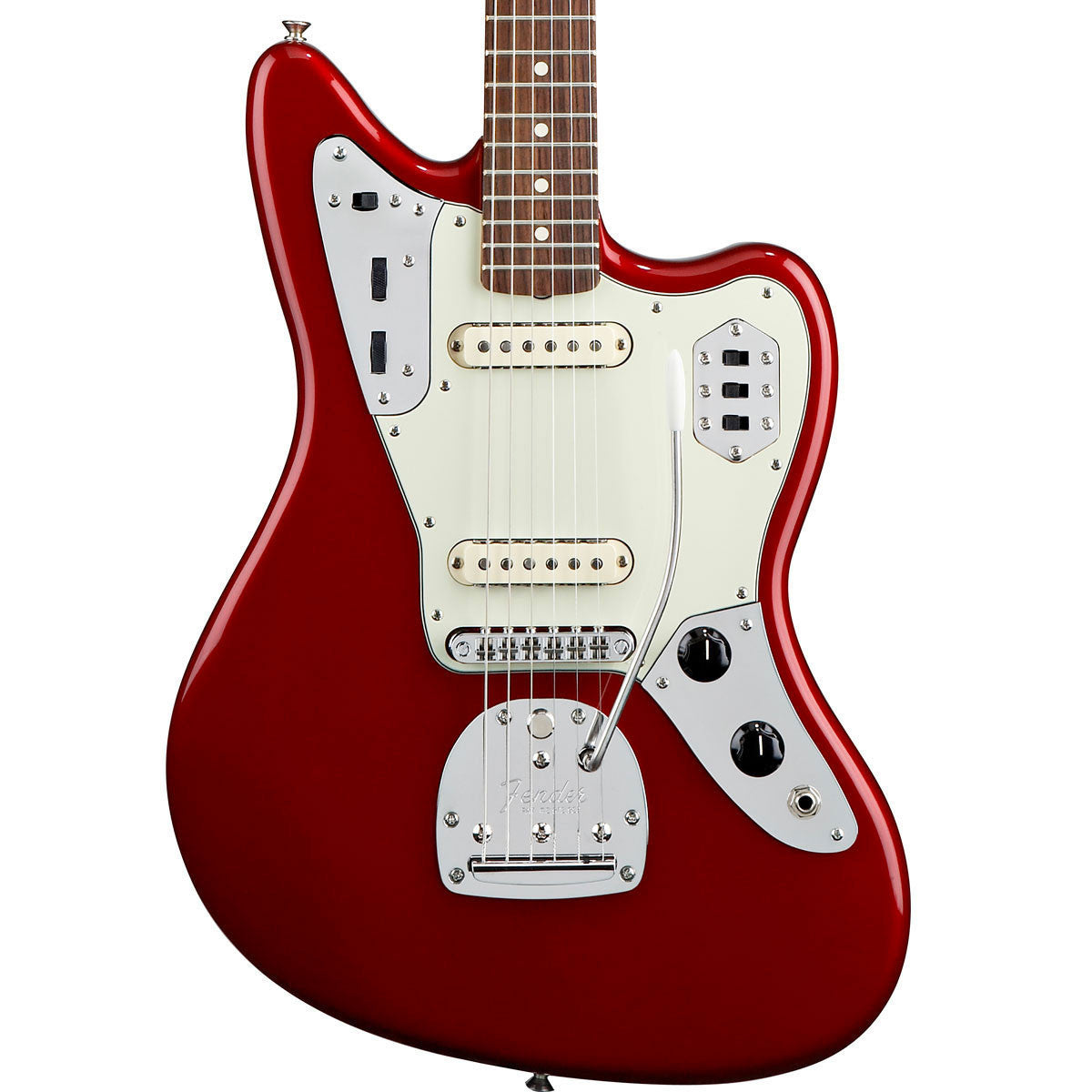 Fender Classic Player Jaguar Special - Rosewood - Candy Apple Red - Vintage Guitar Boutique - 1
