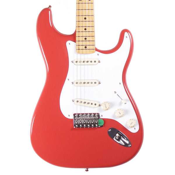 Fender Classic Series '50s Stratocaster - Maple - Fiesta Red - Vintage Guitar Boutique - 1
