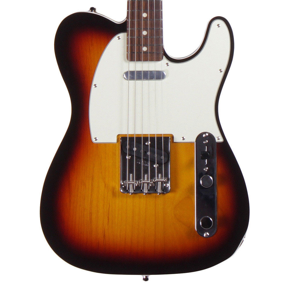 Fender Vintage '62 Telecaster Custom - Bound Edge - Rosewood - 3-Color Sunburst - Vintage Guitar Boutique - 1