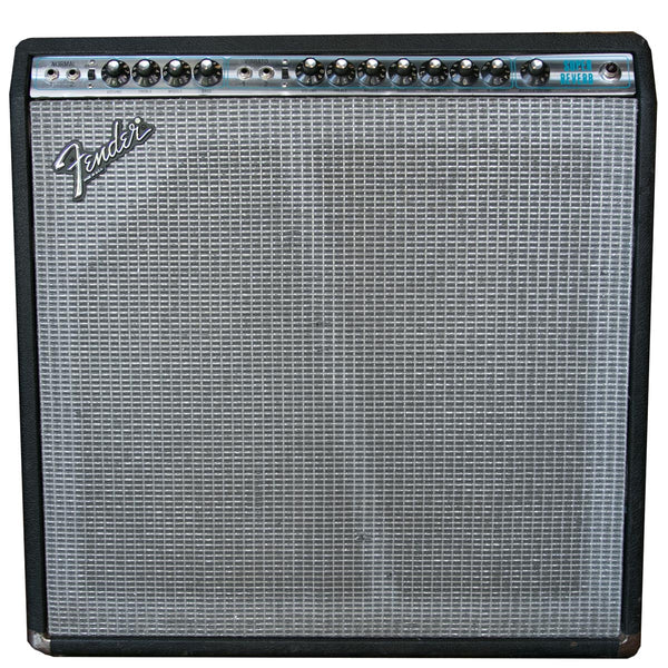 1970s Fender Super Reverb - Silverface | Lucky Fret Music Co.