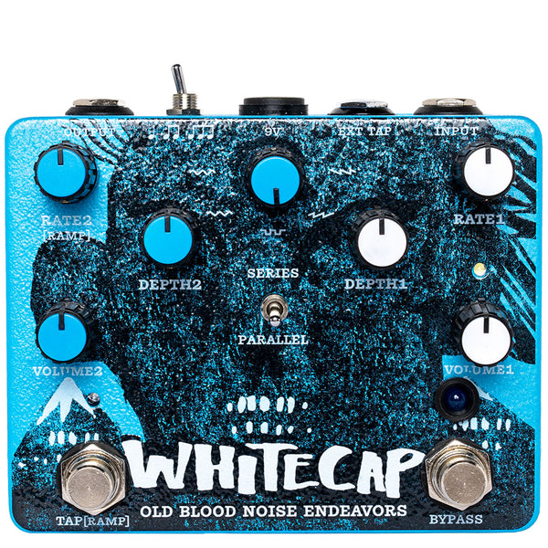 Old Blood Noise Endeavours Whitecap, Asynchronus Dual Tremolo Pedal