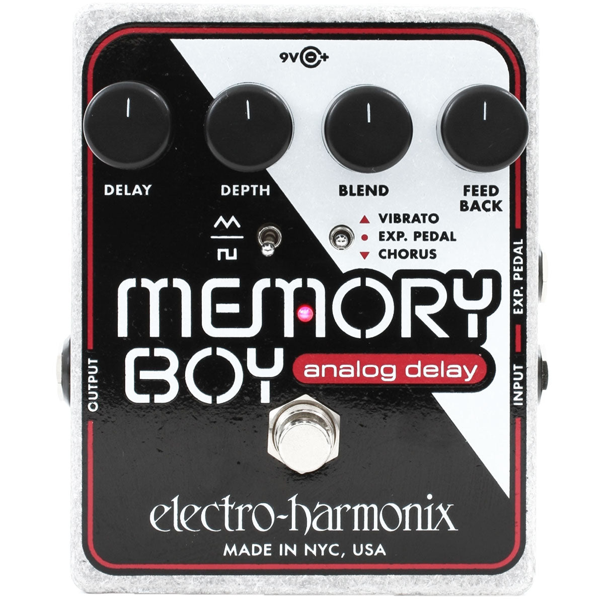 Electro Harmonix - Memory Boy - Analog Echo/Chorus/Vibrato (PSU Included)