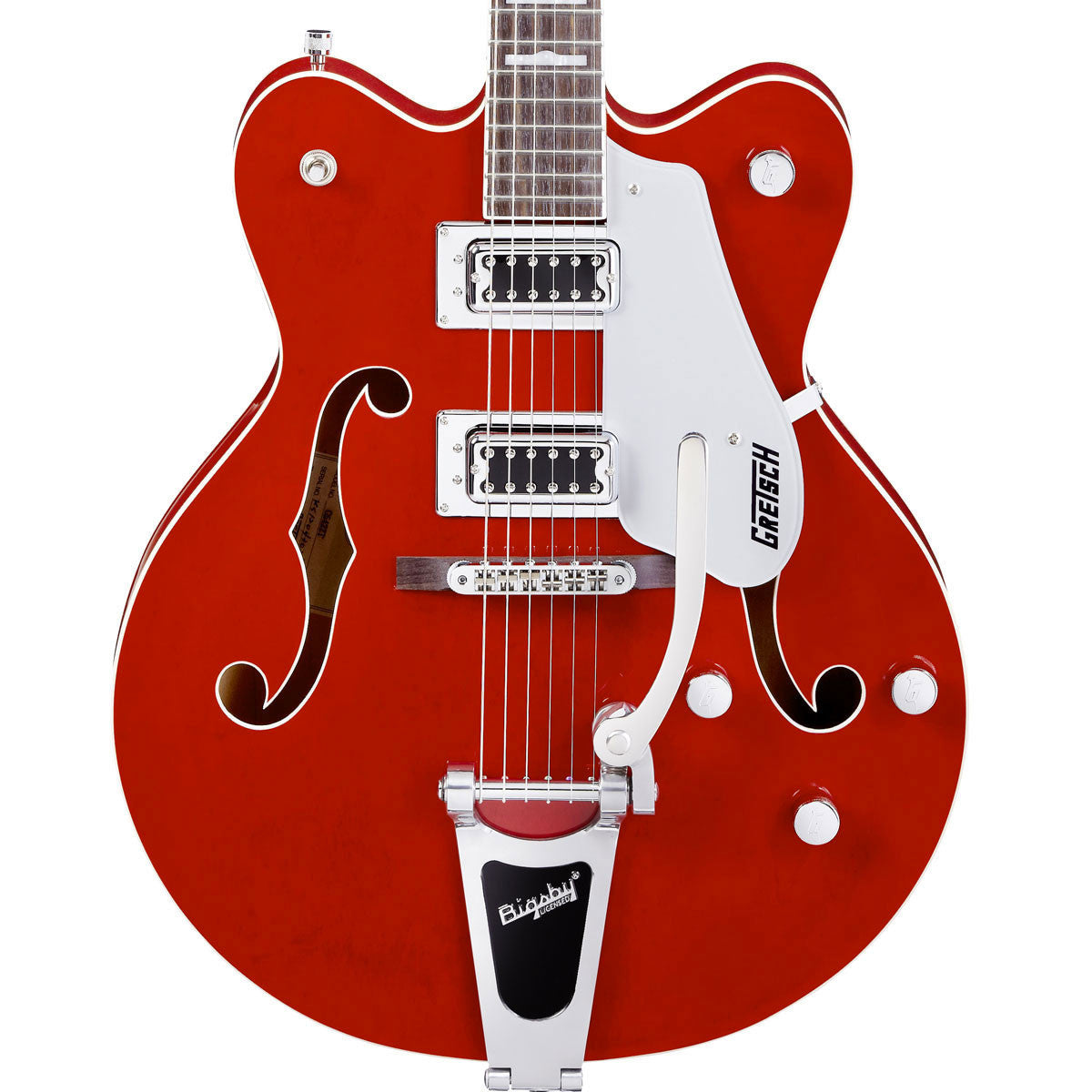 Gretsch G5422TDC - Electromatic Double Cut Hollow Body w/Bigsby - Transparent Red - Vintage Guitar Boutique - 1