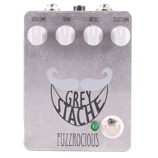 Fuzzrocious Pedals Grey Stache Fuzz Standard | Lucky Fret Music Co.