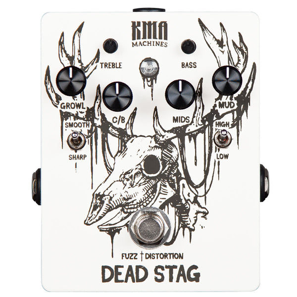 KMA Audio Machines Dead Stag Fuzz With Active EQ | Lucky Fret Music Co.