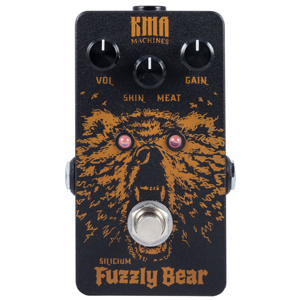 KMA Audio Machines Fuzzly Bear Silicon Fuzz | Lucky Fret Music Co.