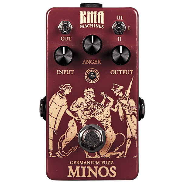 KMA Audio Machines Minos - Three-stage Germanium Fuzz Pedal