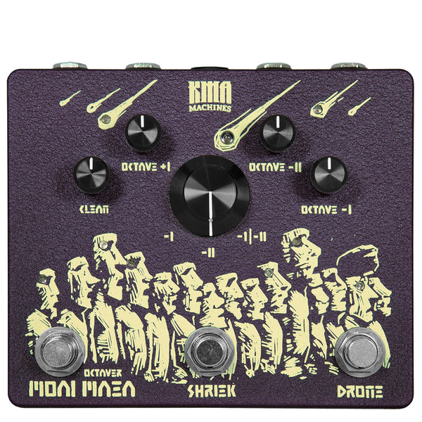 KMA Audio Machines Moai Maea - Analog Octaver Pedal