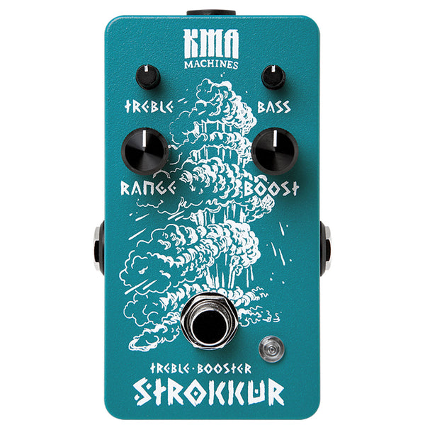 KMA Audio Machines Strokkur Treble Booster | Lucky Fret Music Co.
