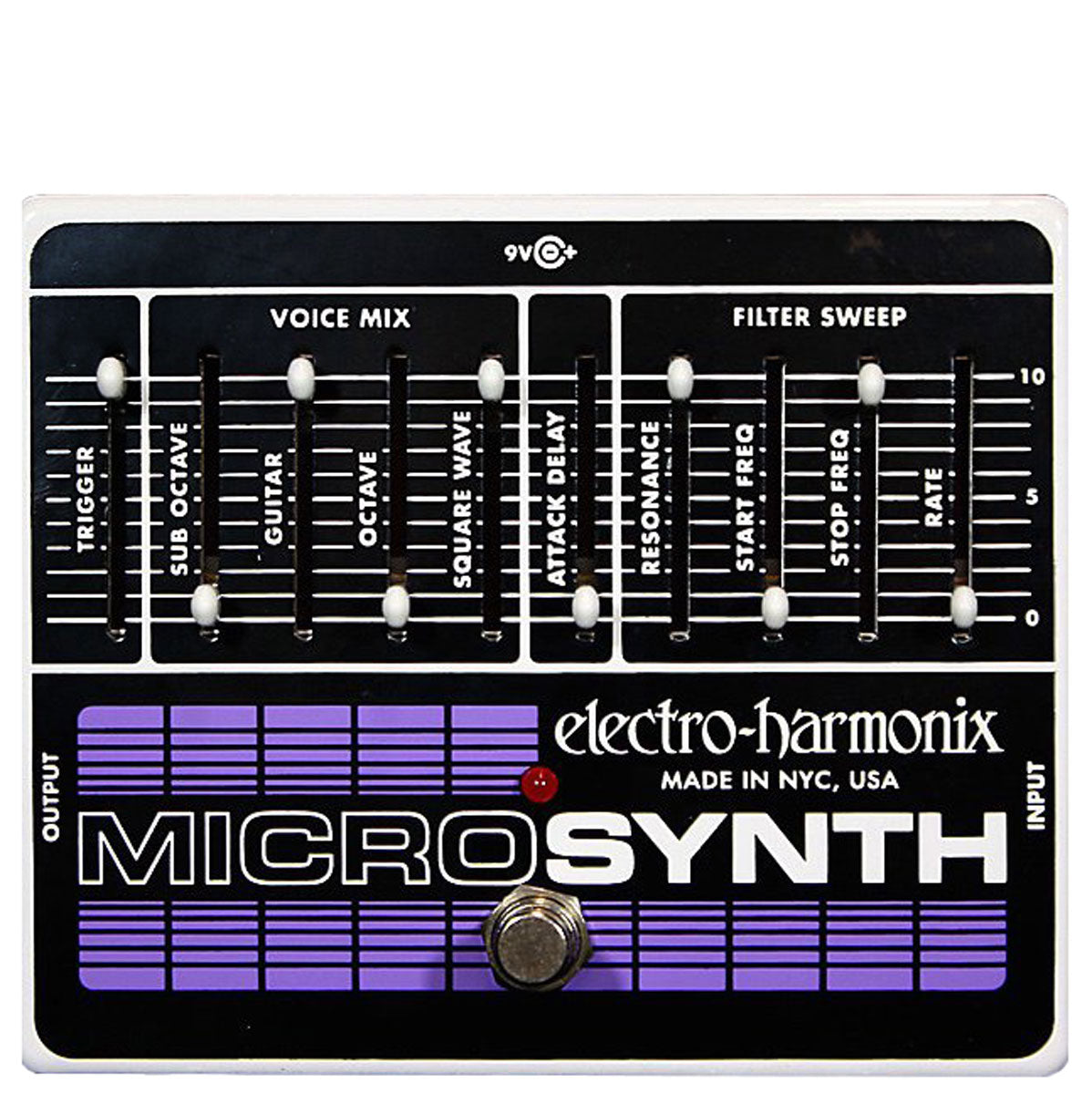 Electro Harmonix - Microsynth - Analog Guitar Synthesizer (PSU Included) | Lucky Fret Music Co.