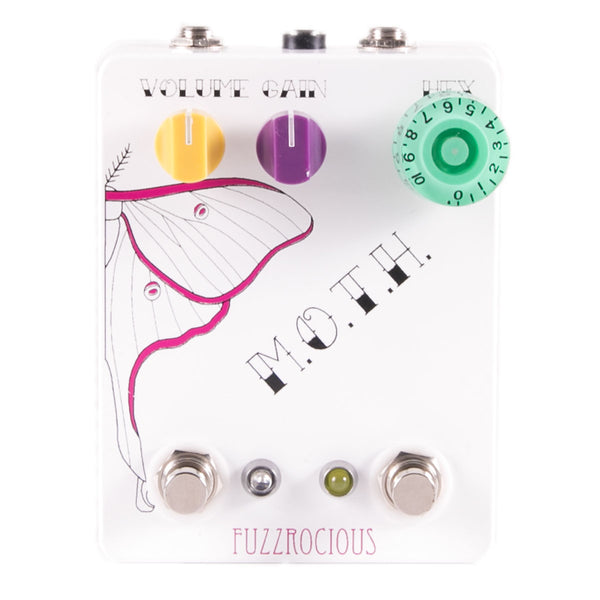 Fuzzrocious Pedals - M.O.T.H - Overdrive/Distortion / Faux Tremolo / Oscillator