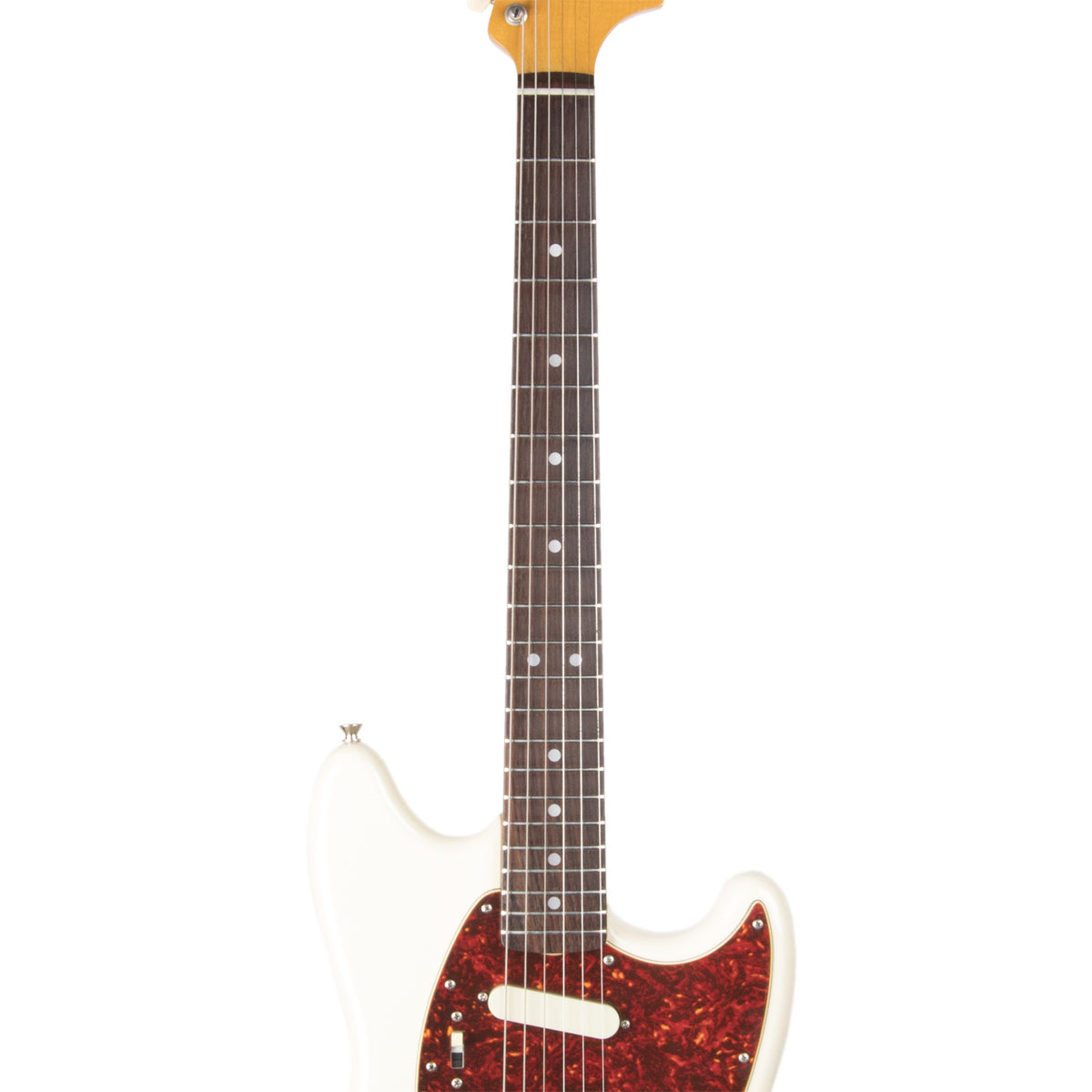 2006 - 2008 Fender Japan '65 Mustang - MG65, Vintage White