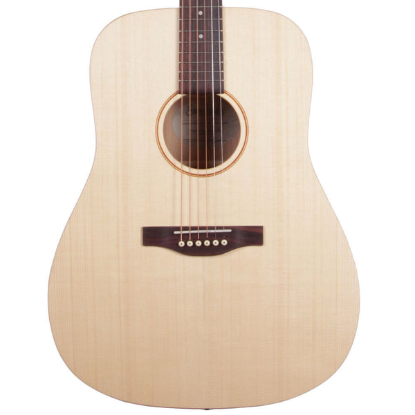 Simon & Patrick Trek Natural Dreadnought SG - Solid Spruce - Vintage Guitar Boutique - 1