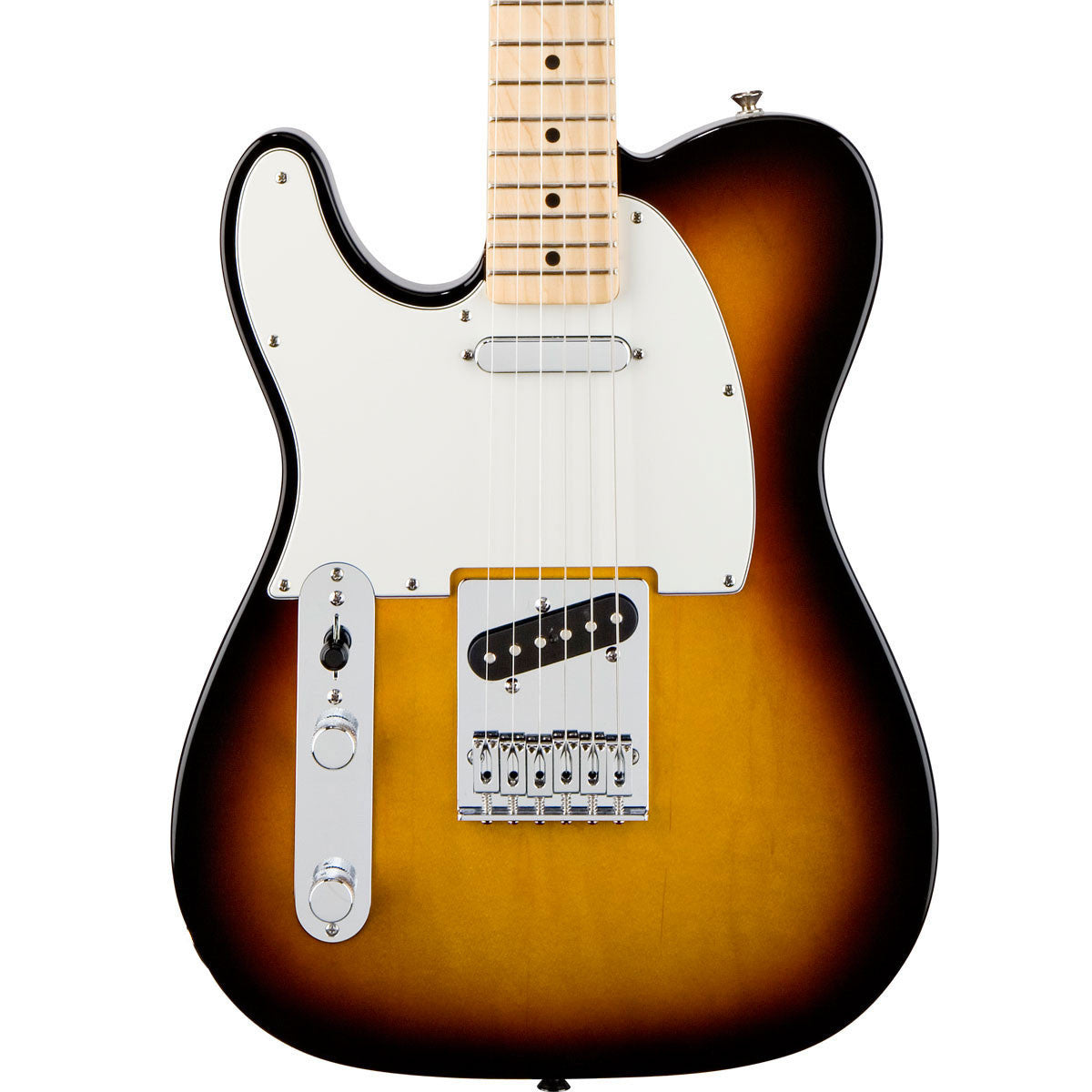 Fender Standard Telecaster - Maple - Brown Sunburst - Left Handed - Vintage Guitar Boutique - 1