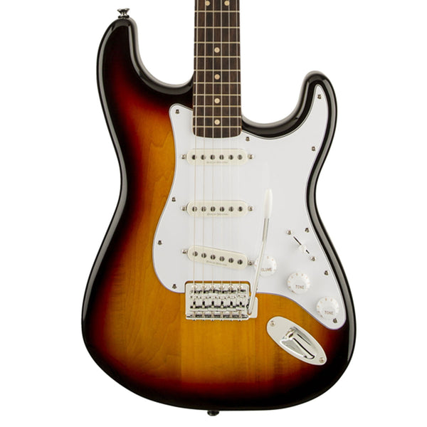 Squier Vintage Modified Stratocaster, Rosewood, 3-Color Sunburst | Lucky Fret Music Co.