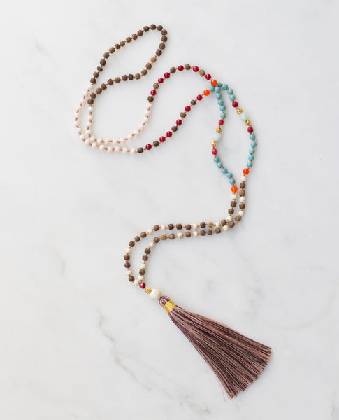 ALL TASSEL NECKLACES