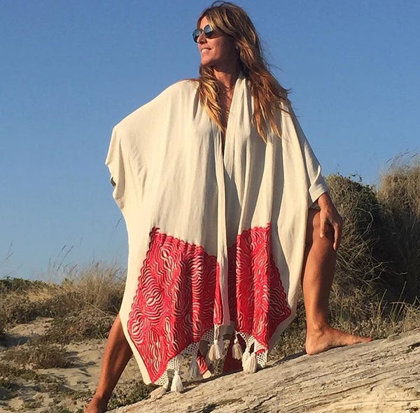LONG WRAP DESERT SHAWL KAFTAN
