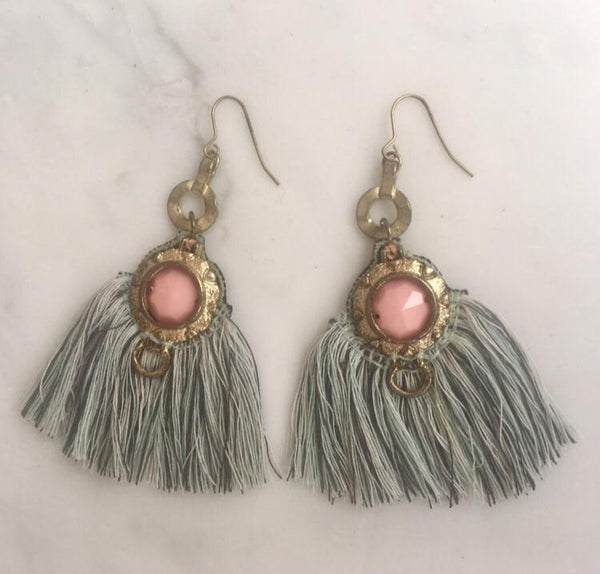 WHISPERING BEACH TASSEL EARRING