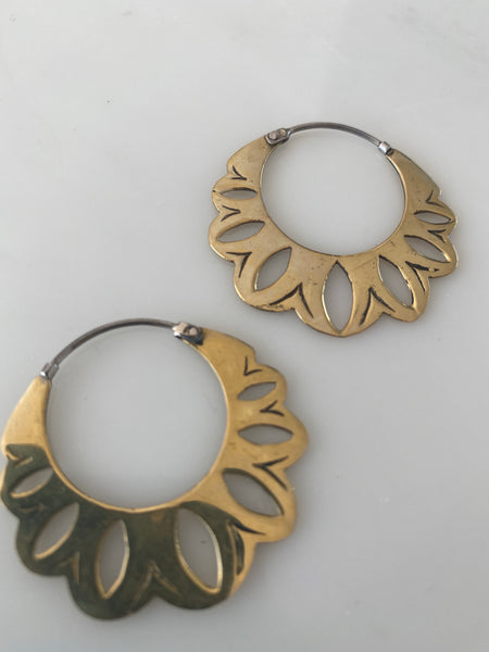 SACRED FLOWER EARRINGS
