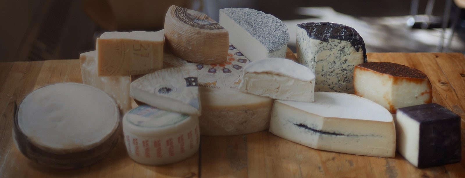 Photo of a selection of cheeses from Nicastros