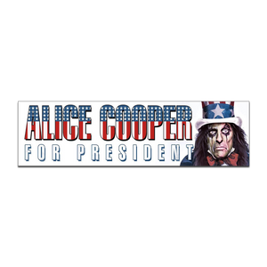 Alice Cooper For President 2020 Sticker