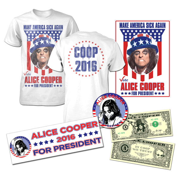 Alice Cooper Campaign Pack with T-Shirt