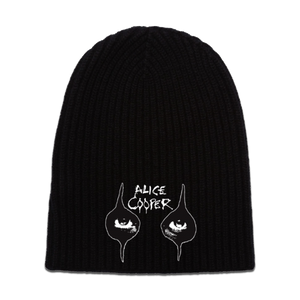 Eyes and Logo Beanie