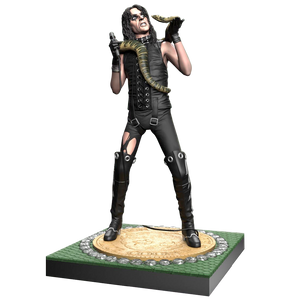 Alice Cooper II Snake Rock Iconz Statue