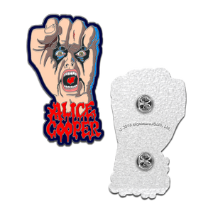 Raise Your Fist and Yell Enamel Pin