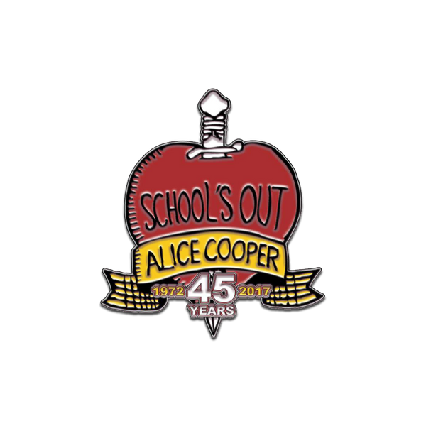 School's Out 45 Logo Enamel Pin