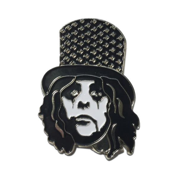 Studded Hat Enamel Pin