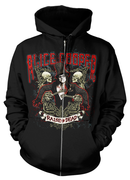 RAISE THE DEAD ZIP HOODIE - X-Large