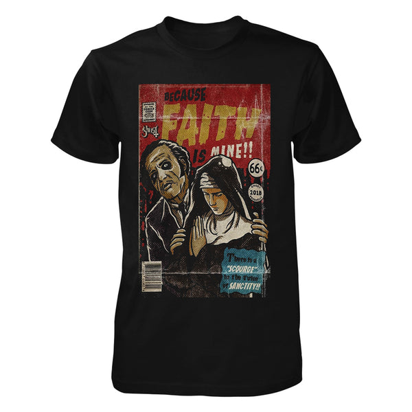 Faith is Mine Comic Book Tee
