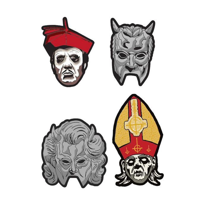 Papa Nihil and Friends Patch Set
