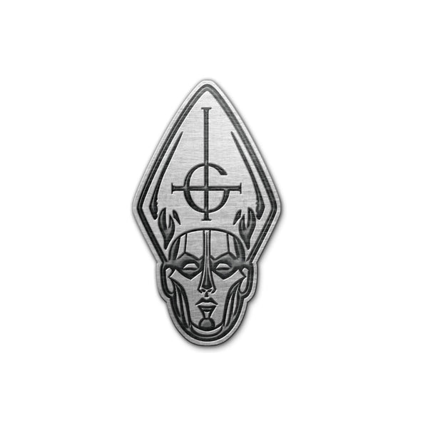 Papa Head Metal Pin Badge