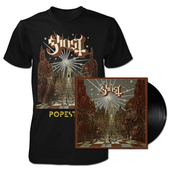 LIMITED EDITION NEW POPESTAR VINYL + LIGHTBRINGER TEE BUNDLE