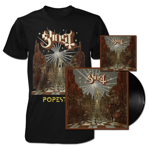 LIMITED EDITION NEW POPESTAR CD + VINYL + LIGHTBRINGER TEE BUNDLE