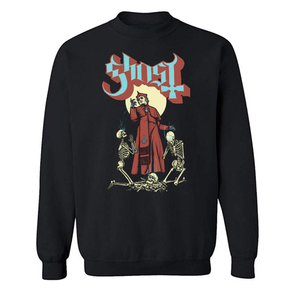 Skeletal Prayers Crewneck
