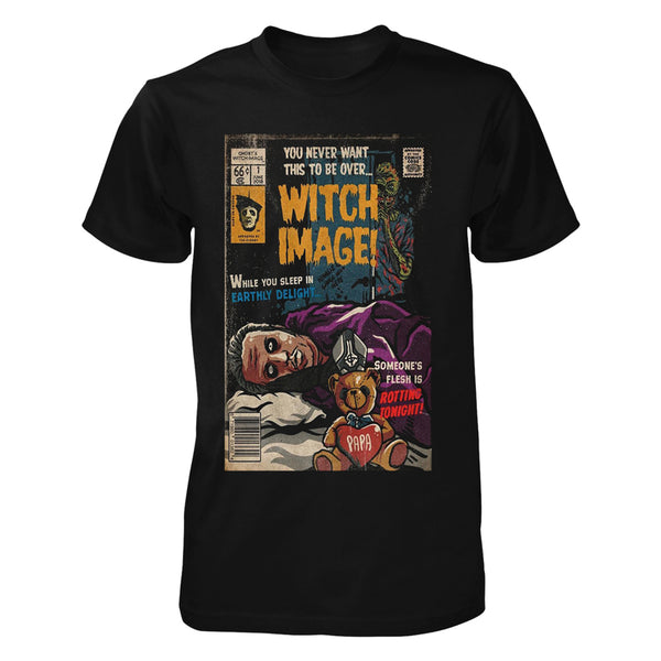 Witch Image Comic Book Tee